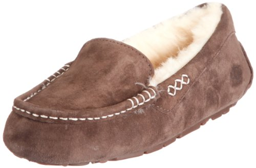UGG Australia Women's Ansley Moccasin in Chocolate 6 W US