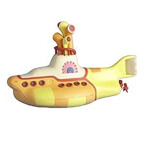 Beatles Yellow Submarine Blow Mold Christmas Ornament