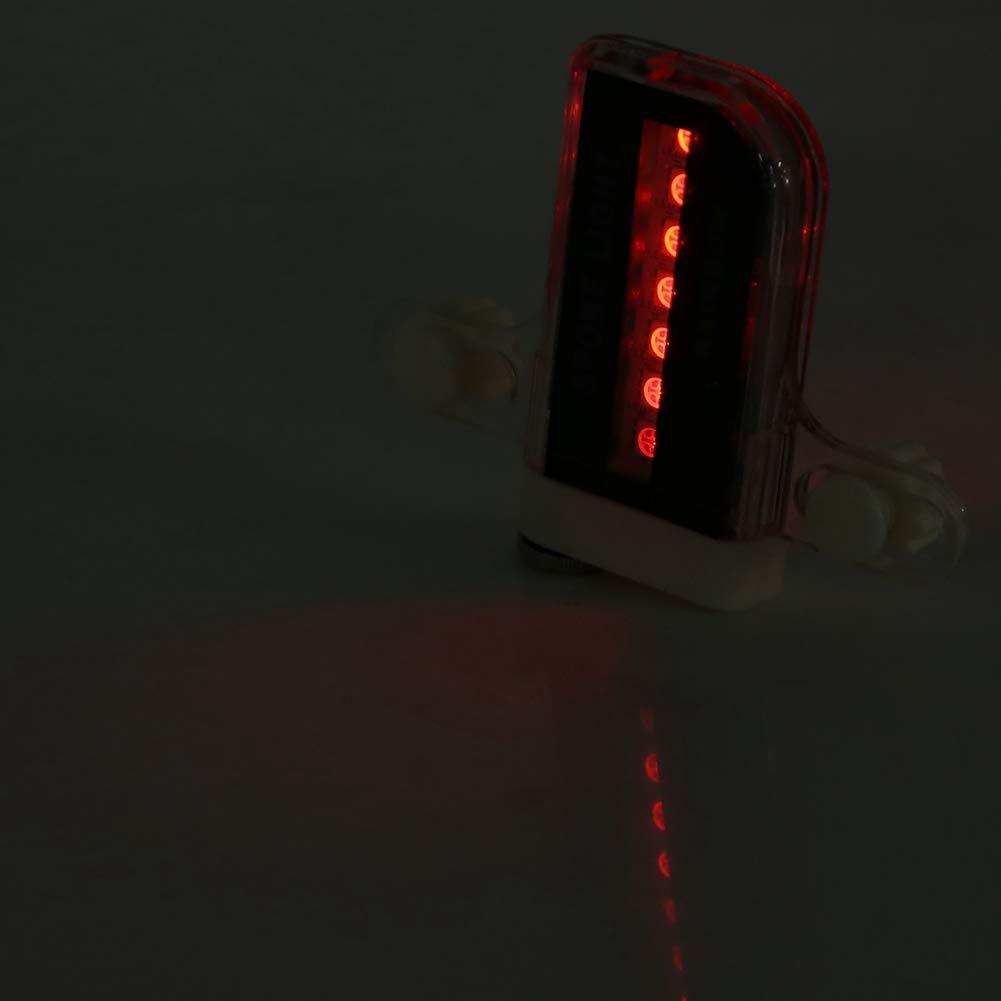 14 ledes Varios Modos Luz de radios para Bicicleta VGEBY