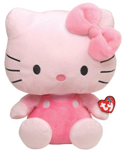 Ty Beanie Buddy Hello Kitty - All Pink (Large)