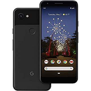 "Google Pixel 3A (64GB, 4GB RAM) 5.6"" Display - GSM/CDMA Factory Unlocked (AT&T/T-Mobile/Verizon/Sprint) Global 4G LTE International Model (Just Black)"