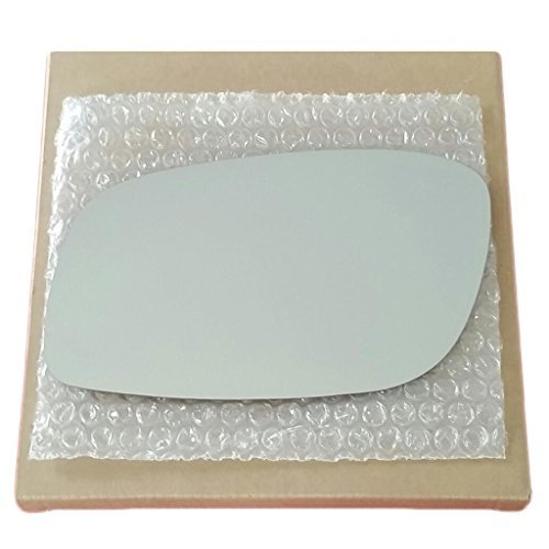 Mirror Glass and Adhesive 1998-2011 Lincoln Town Car Driver Left Side Replacement