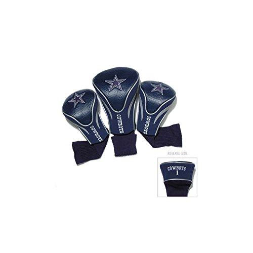 NFL Dallas Cowboys Navy Blue Three-Pack Golf Club Headcovers