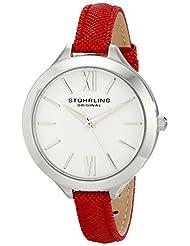 Stuhrling Original Women's 975.02 Vogue Analog Display Quartz Red Watch