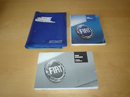 fiat ducato owners manual handbook with wallet 1994 2006 2 0 rh amazon co uk 2018 Fiat Ducato Fiat Ducato 2300 MJT