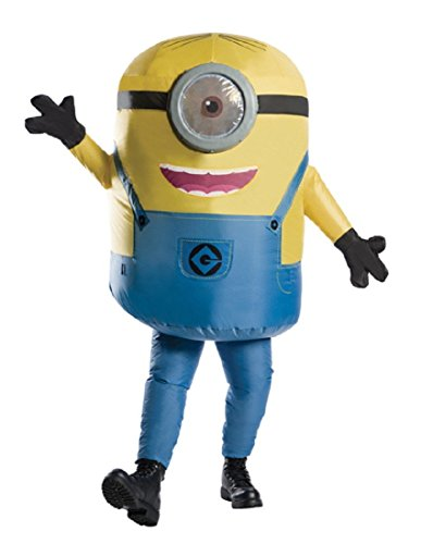 Adult Inflatable Minion Stuart Costume -