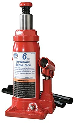 ATD Tools 7382 Heavy Duty Hydraulic Side Pump Bottle Jack - 6 Ton Capacity