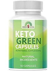 NIEUW: Adema Natural® - Keto Green Capsules - ketogen - stofwisseling & hoog gedoseerd - snel + extreem verbrand en natuurlijk en veganistisch - 50 capsules