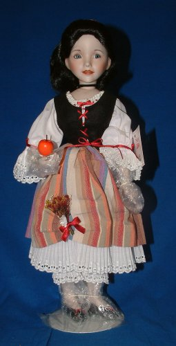 Ashton Drake Porcelain Doll -Snow White