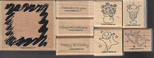 Stampin' Up! All Occasions Set of 8 Retired 2002