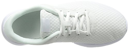 Nike Girls' Tanjun Running Shoes, Black White