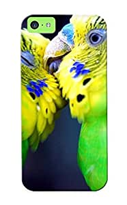 Durable Case For The Iphone 5c - Eco-friendly Retail Packaging(parrot )