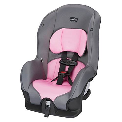 Evenflo Tribute LX Convertible Car Seat, Pink Ice
