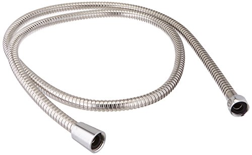 (Delta Faucet U495S-60-PK 60-Inch Stainless Steel Hose, Chrome )