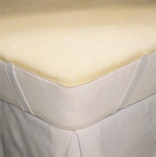 SnugFleece Elite Wool Mattress Pad - Queen