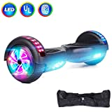 jolege 6.5' Hoverboard UL 2272 Certified Self Balancing Scooter with Flash Wheel LED Light Self...