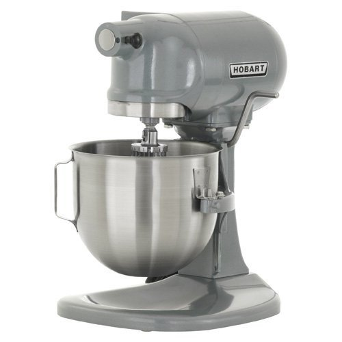 Hobart N50 Commercial Mixer, Gear-Driven, 3-Speed, 5 Quart, Gray by Hobart
