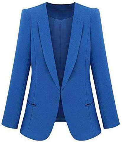 Availcx-Office Ladies Fashion Blazer Plus Size Chaqueta Formal ...