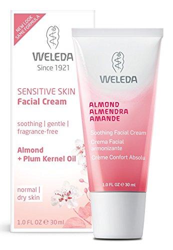 Weleda Mandel Sensible Haut Wohltuende Gesichtscreme, 30 ml, 1er Pack (1 x 30 ml)