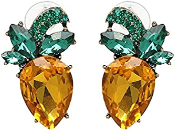 FIFATA Sparkling Pineapple Vintage Trending Earrings