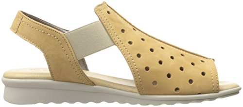 Flexx Women's Wedge Glare Nubuck Dance Fan Sandal The 6H8nvpqxp