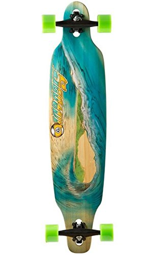 Sector 9 Blue Wave Lookout dropthrough Complete Longboard Skateboard