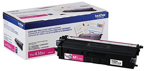 Brother Printer TN436M Super High Yield Toner-Retail Packaging , Magenta