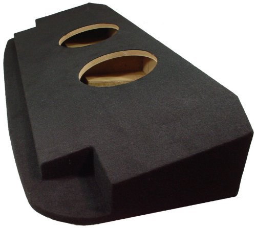"ASC Chevy Avalanche or Cadillac Escalade EXT 2002-2013 Dual 12"" Subwoofer Custom Fit Behind Seat Sub Box Speaker Enclosure"