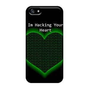 Durable Hacking Your Heart Back Case/cover For Iphone 5/5s