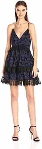 KENDALL + KYLIE Women's Lace Babydoll Dress