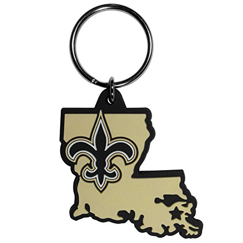NFL New Orleans Saints Home State Flexi Key Chain