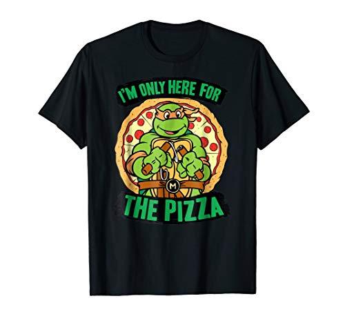 Teenage Mutant Ninja Turtles Here for Pizza T-shirt ()