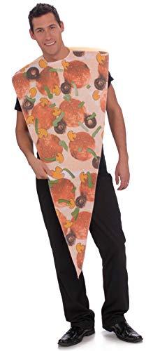 Rubie's Pizza Slice Adult Humor Costume, Red, Standard -