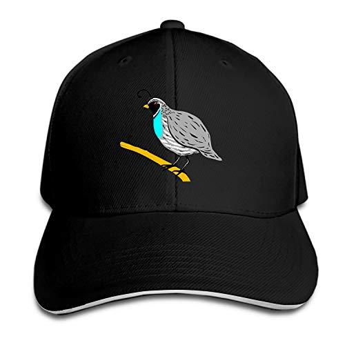 - Bird Branch Wings Feathers Species Quail Snapback Cap Plain Blank Caps Adjustable Flat Bill Hats for Men Women