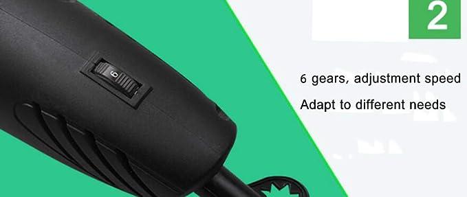 BMDHA Pequeña Amoladora Eléctrica Multifunción Grado Industrial 280W Súper Potencia Pulido Perforación Corte,Juego Completo,A: Amazon.es: Deportes y aire ...