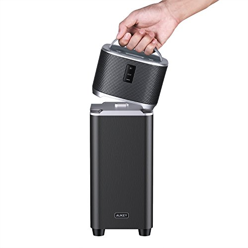 AUKEY Bass Station Bluetooth Speaker with Enhan...