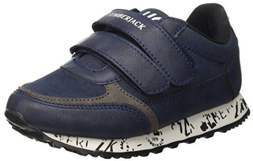 Lumberjack Trophy, Sandalias con Plataforma para Niños Blu (Cc001 Navy Blue)