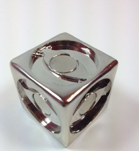 Pathtag Magnetic Cube Display Holder (Silver)