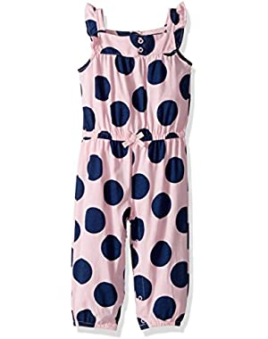 Baby Girls' Polka Dot Romper