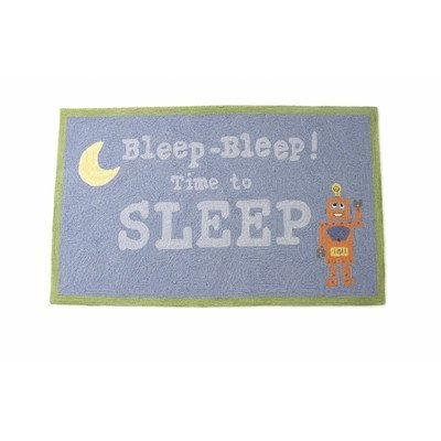 The Little Acorn Rug, Bleep, Bleep Time To Sleep Robot