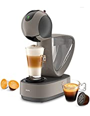 Krups KP270A Infinissima Touch Automatische multidrank-capsulemachine, Nescafé Dolce Gusto capsule, hogedruksysteem tot 15 bar, touchscreen, eco-modus na 1 minuut, taupe