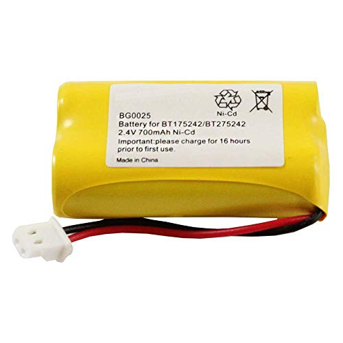 WalR Rechargeable Cordless Phone Battery Ni-CD, for Sony BP-T50 BPT50 BP-T51 BPT51 BP-TR10 BPTR10 HSCOT50 NTM-910 SPP-N1000 SPP-N1001 SPP-N1003 SPP-N1004 NTM910 SPPN1000 SPPN1001