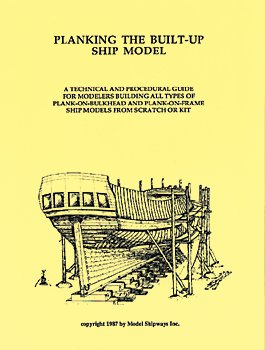 (Planking The Built-Up Ship Model)