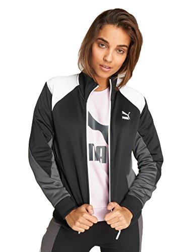 Giacche Mezza Puma giacca Donna Stagione Nero Retro Swf7aq