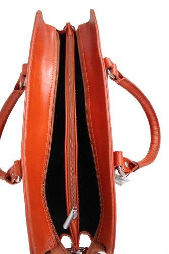 A Donna Borsa Pelle Vera Lavoro Italy Moda Ctm Tutto Chicca Made In Cuoio 36x27x11cm Da 100 Mano Cartella A4qIHWXnW
