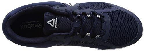 Reebok Herren Yourflex Train 9.0 MT Hallenschuhe Blau (Collegiate Navy/white)