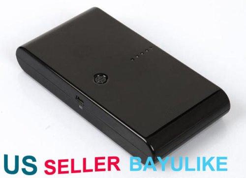 20000 Mah Black Power Bank Portable External Battery Pack For Ipad Iphone 5
