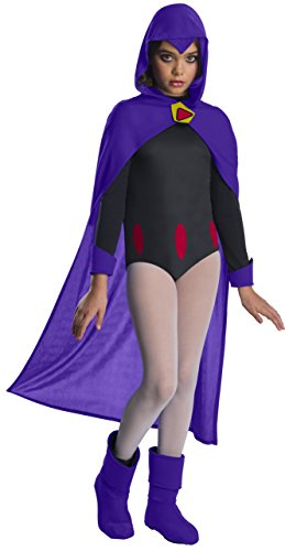 Teen Titans Go Movie Costume Deluxe Raven, Medium -