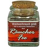 40ml Wald Weihrauch grob (Burgundisches Pechharz, Burgunderharz, Fichtenharz) zum Räuchern - Räucherwerk - im Korkenglas