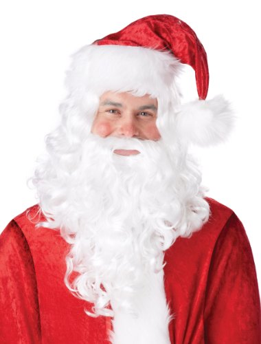 St Nicholas Wig and Beard Costume Accessory -